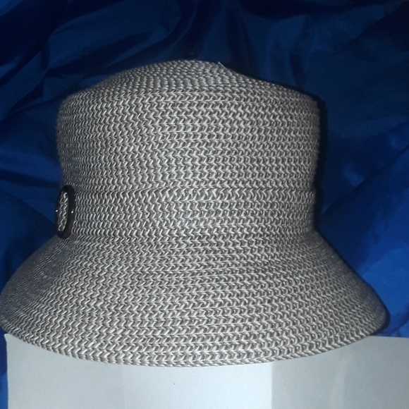 a559cfeb73d Croft  Barrow Combo Dressy Summer Hat Brown New